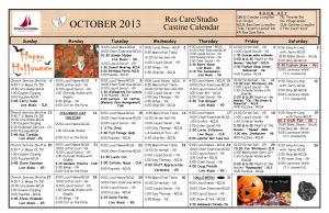 10 Res Care October Calendar 2013