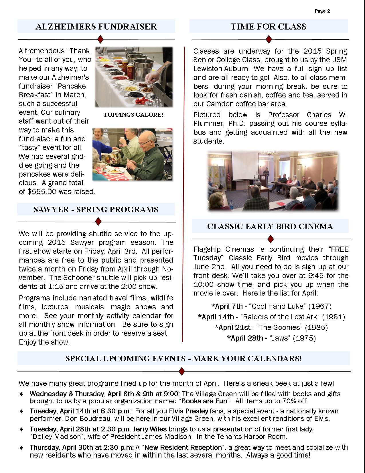 April 2015 Newsletter-Page2