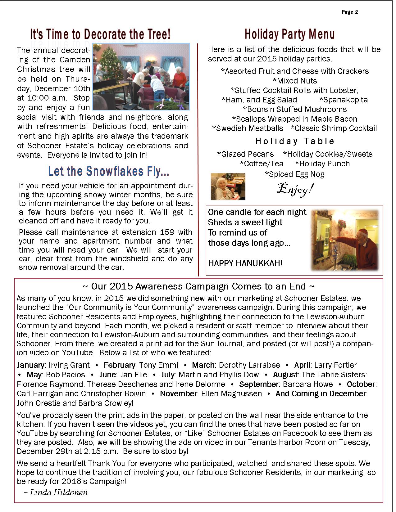 December 2015 Schooner Flash Newsletter2