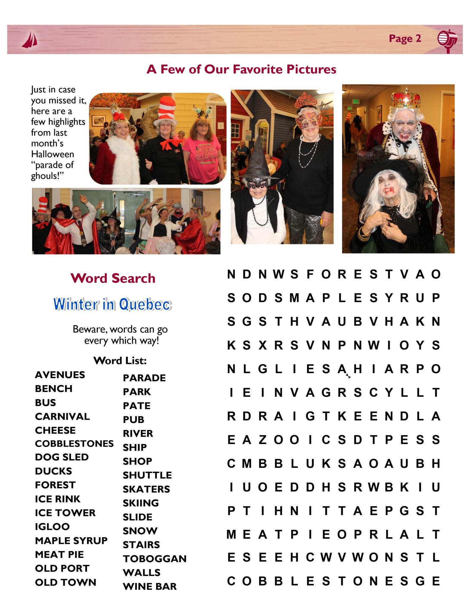 December 2018 Schooner Flash Newsletter