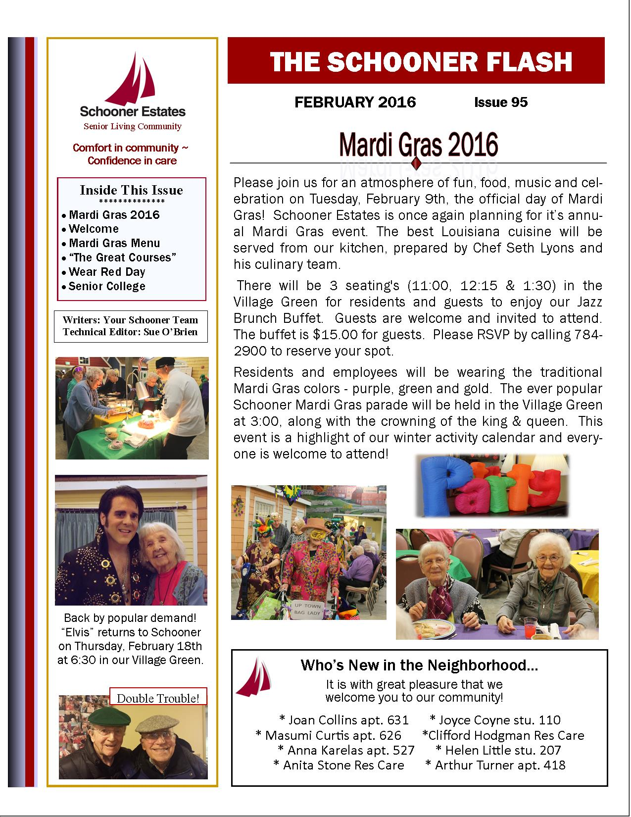 February 2016 Schooner Flash Newsletter-Page1