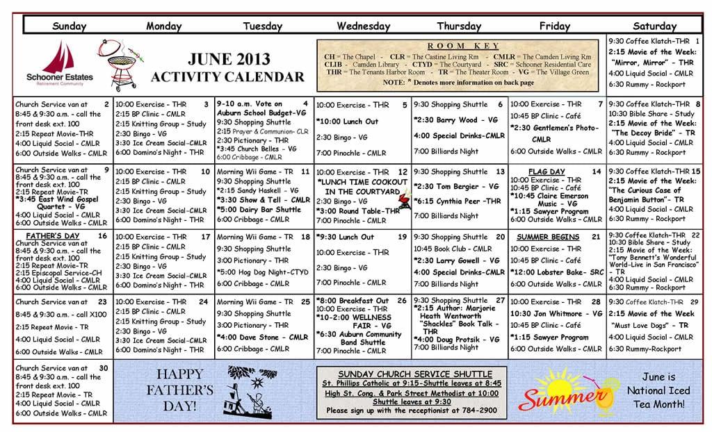 mariner schedule