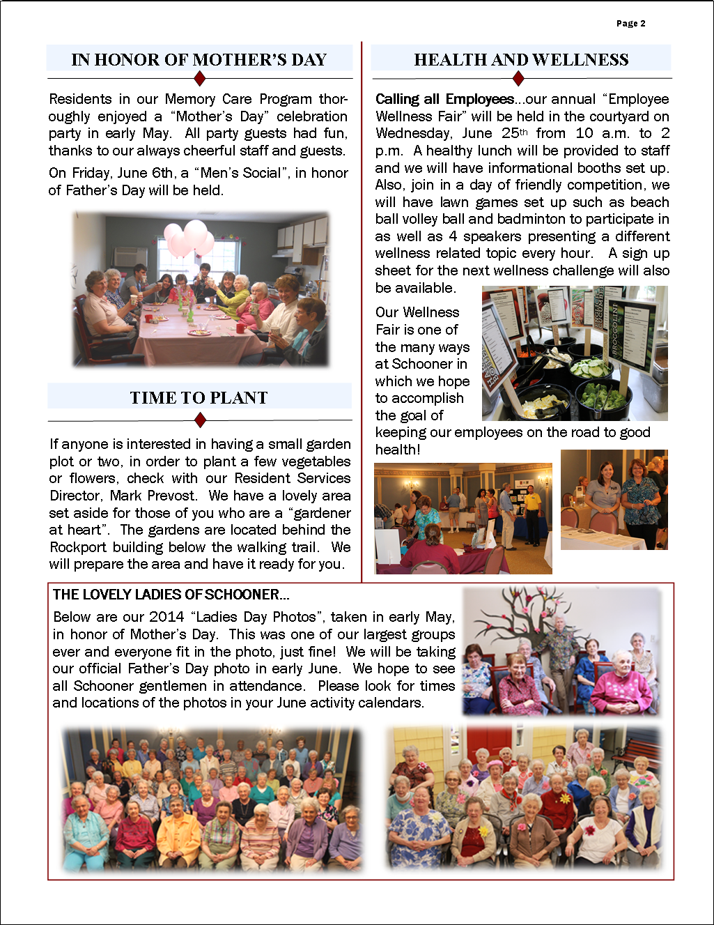 June 2014 Flash Newsletter Page 2