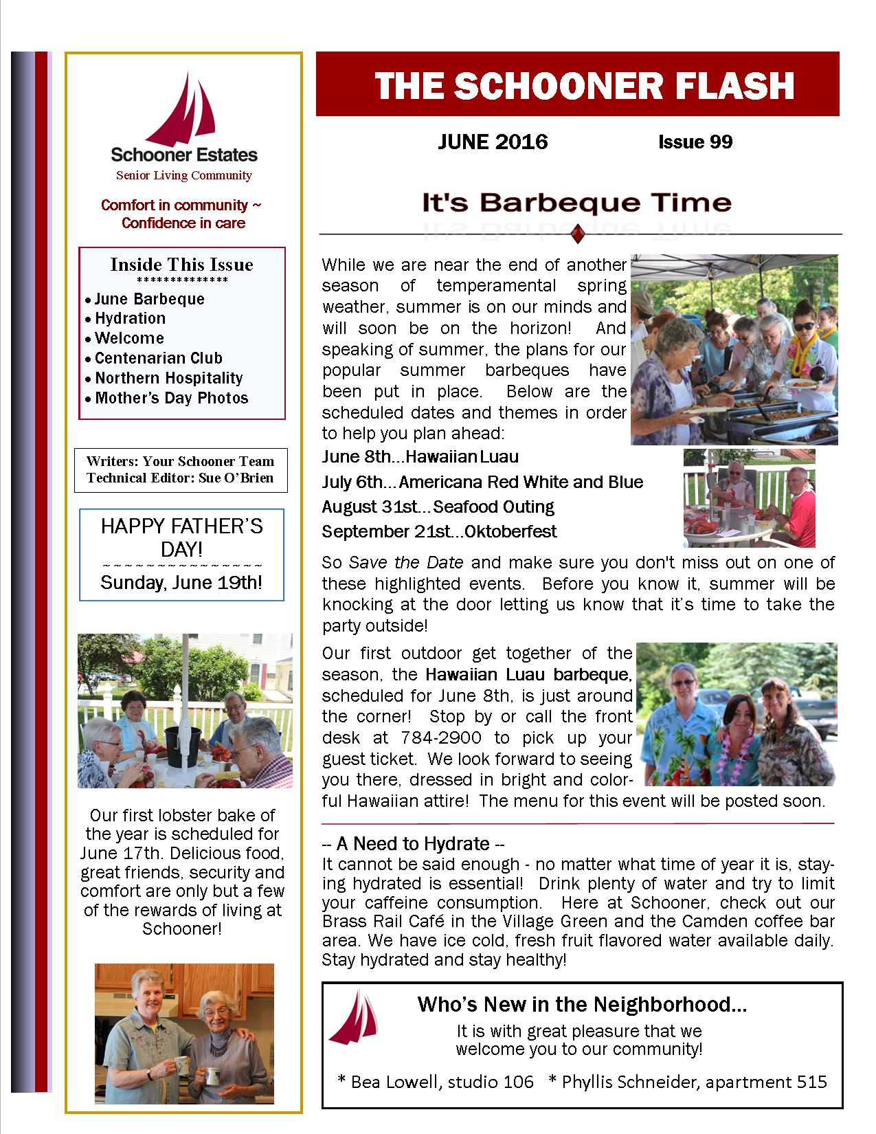 June 2016 Schooner Flash Newsletter-Page1