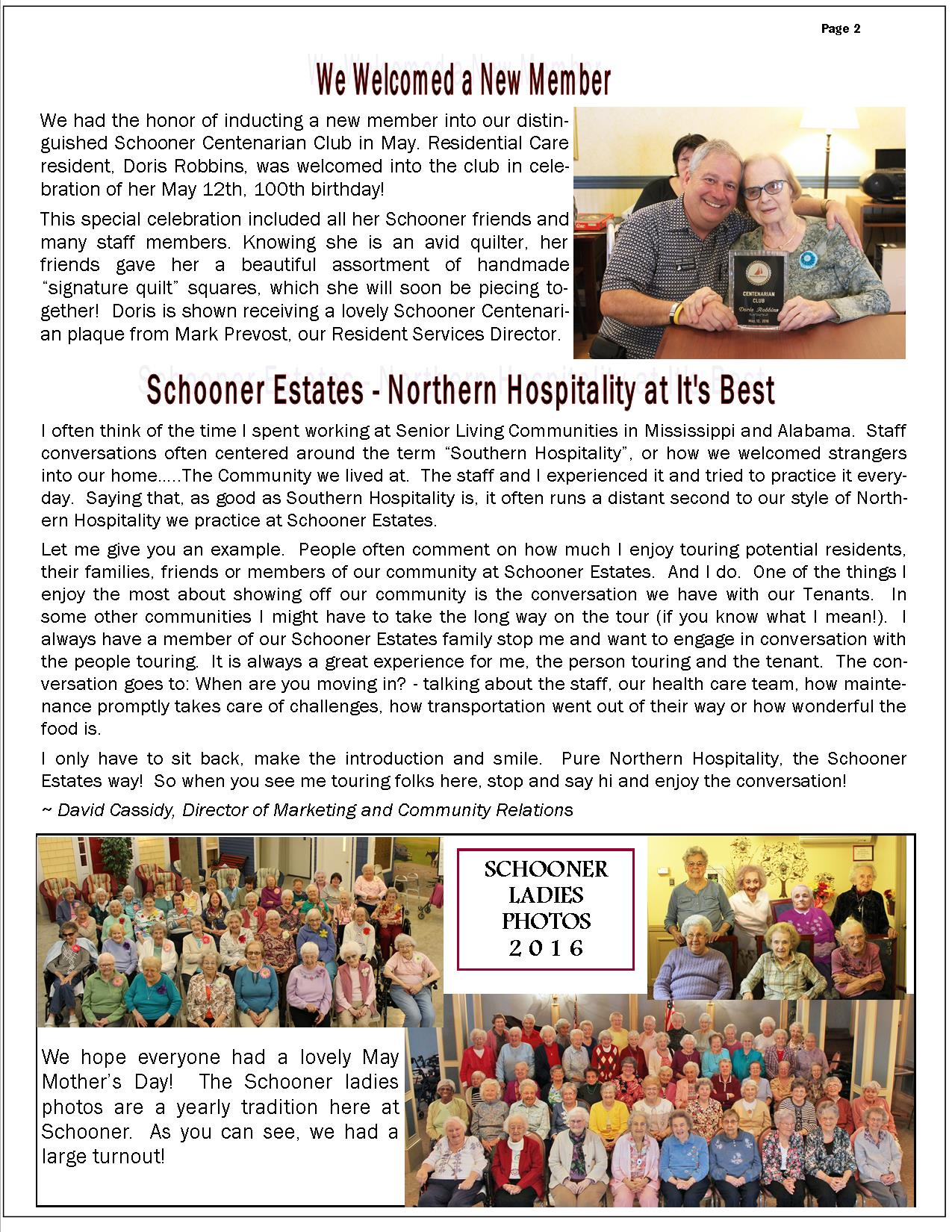 June 2016 Schooner Flash Newsletter-Page2