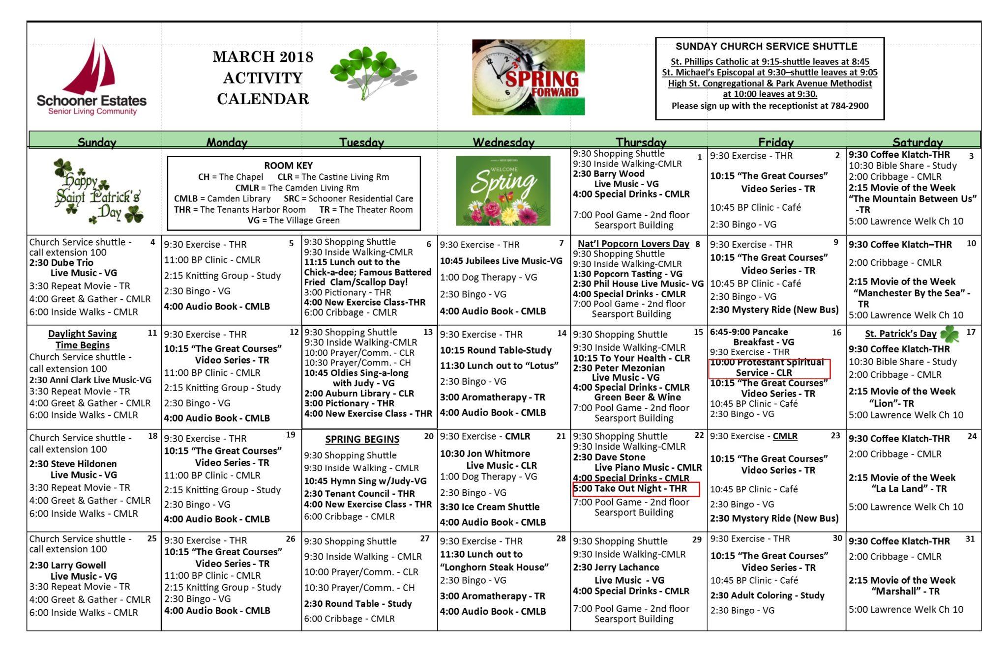 Activity Calendar | Activity Calendars