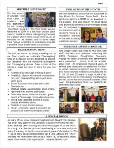 November 2013 newsletter2