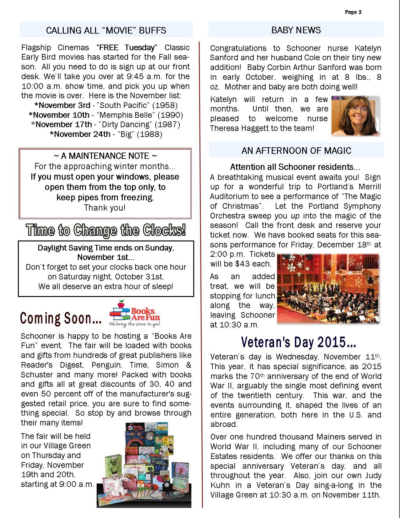 November 2015 Schooner Flash Newsletter 2