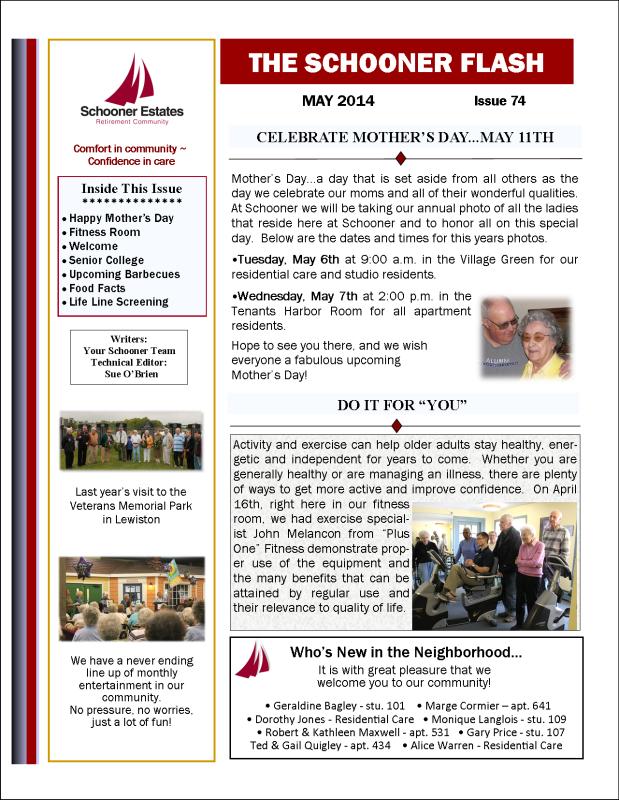 Schooner Flash page 1